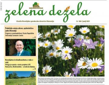 Glasilo Zelena dežela 166 - junij 2021