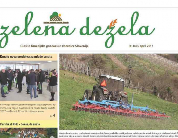Zelena dežela 140 - april 2017