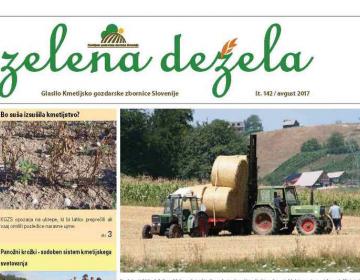 Zelena dežela 142 - avgust 2017