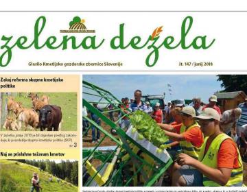 Zelena dežela 147 - junij 2018