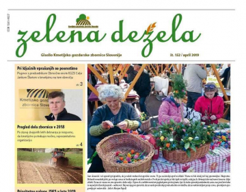 Zelena dežela 152 - april 2019